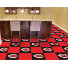 Carpet Tile MLB Cincinnati Reds 18x18 Inches 20 per carton