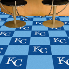Carpet Tile MLB Kansas City Royals 18x18 Inches 20 per carton