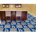 Carpet Tile MLB Los Angeles Dodgers 18x18 Inches 20 per carton