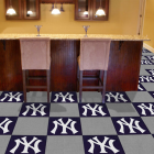 Carpet Tile MLB New York Yankees 18x18 Inches 20 per carton thumbnail