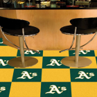 Carpet Tile MLB Oakland Athletics 18x18 Inches 20 per carton
