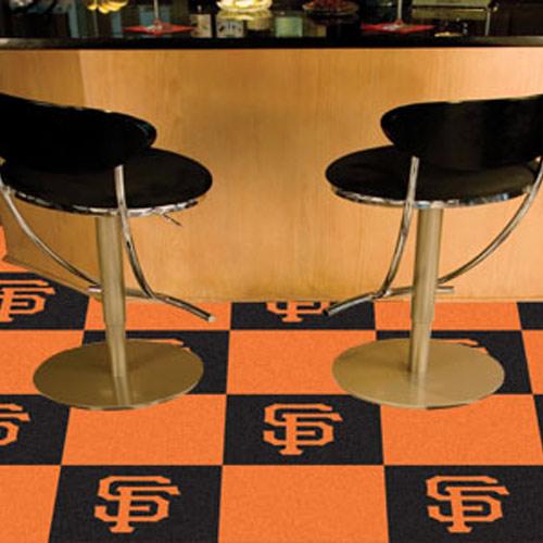 Mlb San Francisco Giants Carpet Tile Carpet Tiles 18x18 Inches