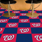 Carpet Tile MLB Washington Nationals 18x18 Inches 20 per carton