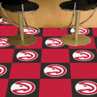 Carpet Tile NBA Atlanta Hawks 18x18 Inches 20 per carton