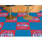 Carpet Tile NBA Detroit Pistons 18x18 Inches 20 per carton