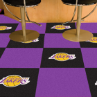 Carpet Tile NBA Los Angeles Lakers 18x18 Inches 20 per carton