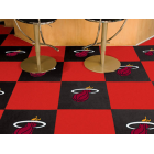 Carpet Tile NBA Miami Heat 18x18 Inches 20 per carton