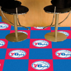 Carpet Tile NBA Philadelphia 76ers 18x18 Inches 20 per carton