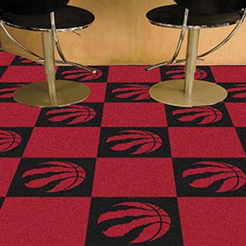 Nba Toronto Raptors Carpet Tile Carpet Tiles 18x18 Inches