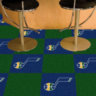 Carpet Tile NBA Utah Jazz 18x18 Inches 20 per carton