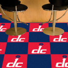 Carpet Tile NBA Washington Wizards 18x18 Inches 20 per carton