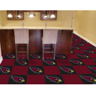 Carpet Tile NFL Arizona Cardinals 18x18 Inches 20 per carton