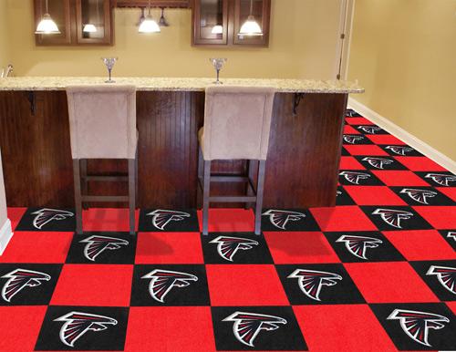 Nfl Atlanta Falcons 18x18 Carpet Tile