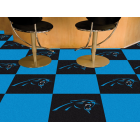 Carpet Tile NFL Carolina Panthers 18x18 Inches 20 per carton