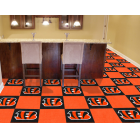 Carpet Tile NFL Cincinnati Bengals 18x18 Inches 20 per carton