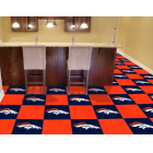 Carpet Tile NFL Denver Broncos 18x18 Inches 20 per carton