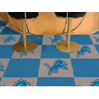 Carpet Tile NFL Detroit Lions 18x18 Inches 20 per carton