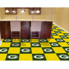 Carpet Tile NFL Green Bay Packers 18x18 Inches 20 per carton