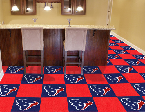Nfl Houston Texans Carpet Tile Carpet Tiles 18x18 Inches