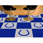 Carpet Tile NFL Indianapolis Colts 18x18 Inches 20 per carton