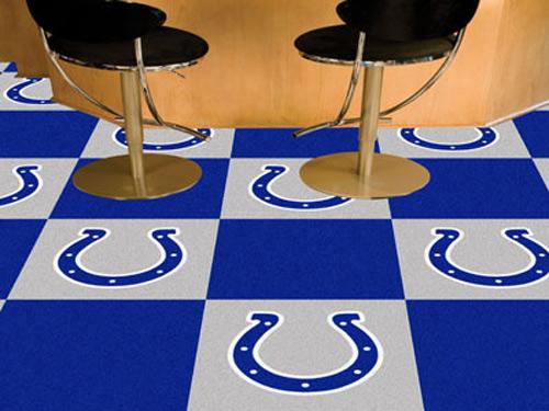 Nfl Indianapolis Colts Carpet Tile Carpet Tiles 18x18 Inches
