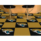 Carpet Tile NFL Jacksonville Jaguars 18x18 Inches 20 per carton