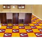 Carpet Tile NFL Kansas City Chiefs 18x18 Inches 20 per carton