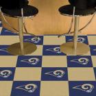 Carpet Tile NFL Los Angeles Rams 18x18 Inches 20 per carton