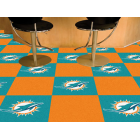 Carpet Tile NFL Miami Dolphins 18x18 Inches 20 per carton