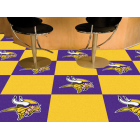 Carpet Tile NFL Minnesota Vikings 18x18 Inches 20 per carton