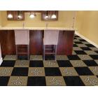 Carpet Tile NFL New Orleans Saints 18x18 Inches 20 per carton