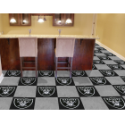 Carpet Tile NFL Oakland Raiders 18x18 Inches 20 per carton