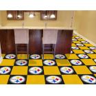 Carpet Tile NFL Pittsburgh Steelers 18x18 Inches 20 per carton