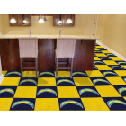 Carpet Tile NFL San Diego Chargers 18x18 Inches 20 per carton