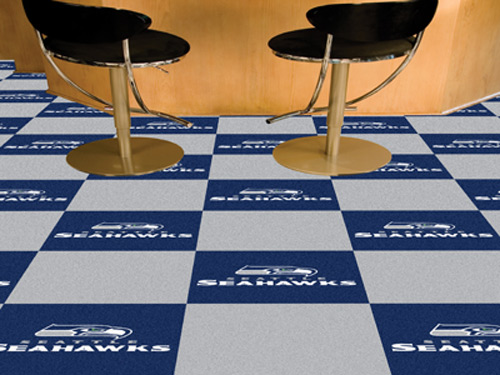 NFL Seattle Seahawks 18x18 carpet tile