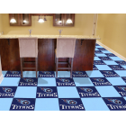 Carpet Tile NFL Tennessee Titans 18x18 Inches 20 per carton