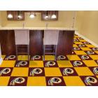 Carpet Tile NFL Washington Redskins 18x18 Inches 20 per carton