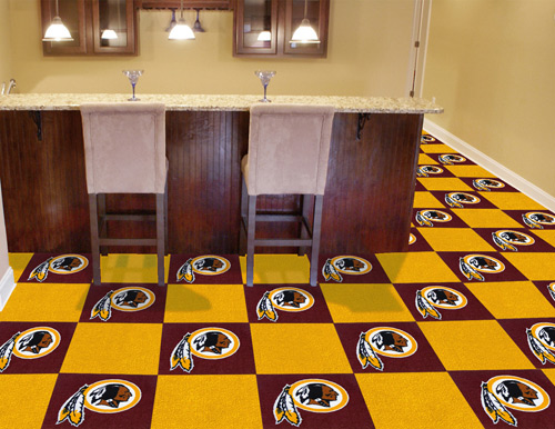 NFL Washington Redskins 18x18 carpet tile