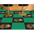 Carpet Tile NHL Chicago Blackhawks 18x18 inches 20 per carton