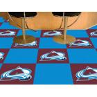 Carpet Tile NHL Colorado Avalanche 18x18 inches 20 per carton