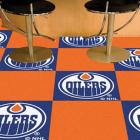 Carpet Tile NHL Edmonton Oilers 18x18 inches 20 per carton