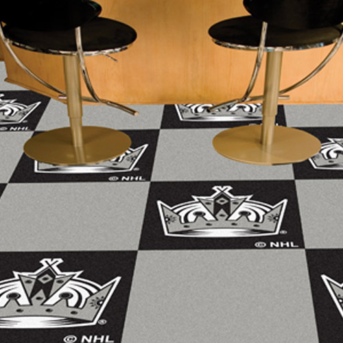 Carpet Tile NHL Los Angeles Kings 18x18 inches 20 per carton