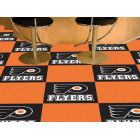 Carpet Tile NHL Philadelphia Flyers 18x18 inches 20 per carton thumbnail
