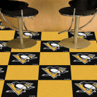Carpet Tile NHL Pittsburgh Penguins 18x18 inches 20 per carton thumbnail