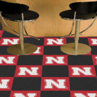 Carpet Tile University of Nebraska 18x18 Inches 20 per carton