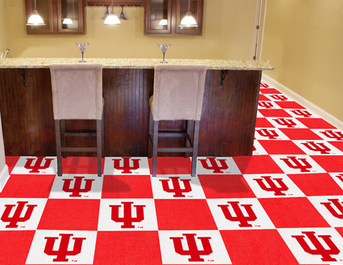 University of Indiana Carpet Tile 18x18 Inches