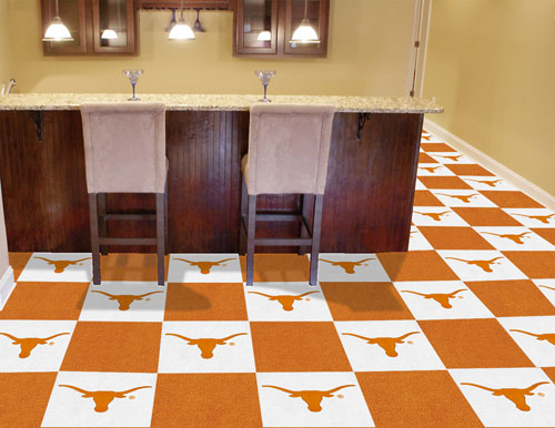 University of Texas Carpet Tile 18x18 Inches