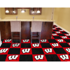 Carpet Tile University of Wisconsin 18x18 Inches 20 per carton