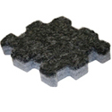 Trade Show Carpet Tiles Center Tile charcoal dark gray color swatch.