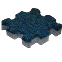 Trade Show Carpet Tiles Center Tile navy blue color swatch.